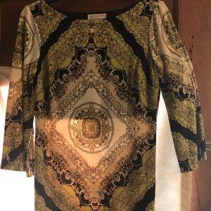Kenar 3/4 sleeve Dress